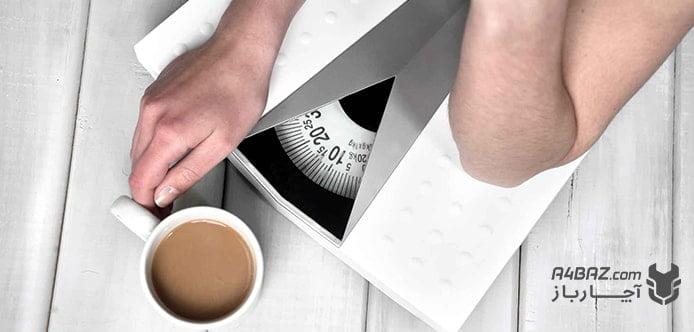 رابطه قهوه و لاغری