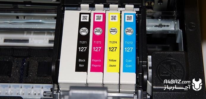 علت کمرنگ چاپ شدن گوشه صفحه