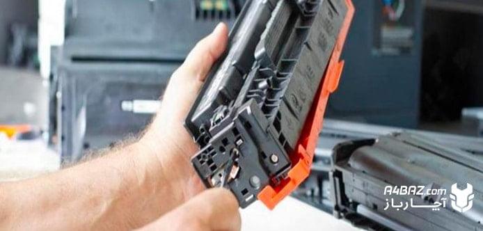 تنظیمات پرینتر برای چاپ کم رنگ