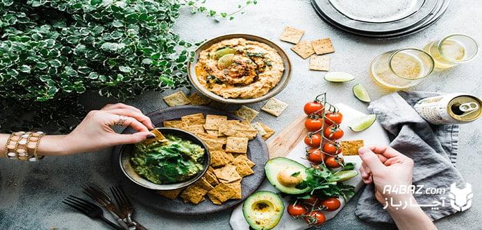 خوراکی مناسب فصل تابستان، غذاهایی ساده و سبک برای تابستان