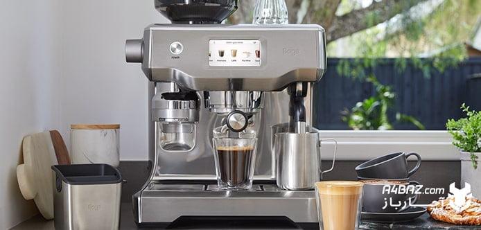 آشنایی با تمام قطعات قهوه جوش
