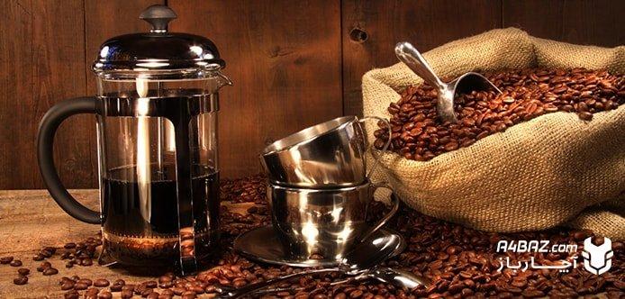 طرز تهیه قهوه فرانسه با دستگاه