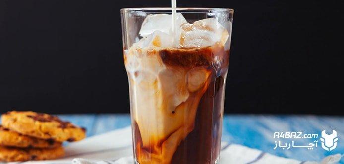 نوشیدن قهوه در تابستان