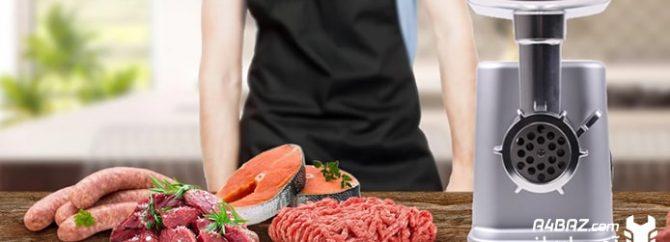 یک چرخ گوشت خانگی از چه اجزایی تشکیل شدهاست؟