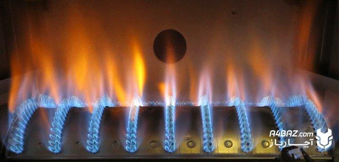 بررسی مشعل بخاری گازی