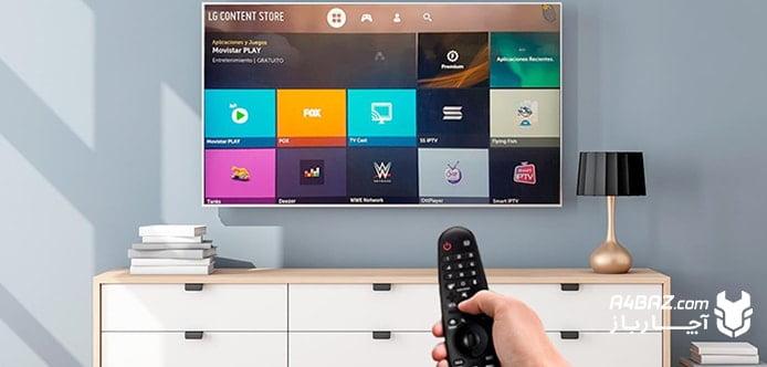 اتصال تلویزیون به اینترنت