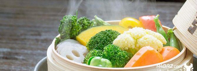 نکات مهم و کاربردی در مورد نحوه بخارپز کردن سبزیجات
