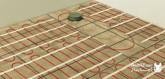 گرم نشدن سیستم گرمایش از کف