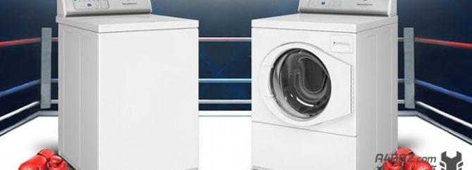 کدام یک بهتر است؟ ماشین لباسشویی درب از بالا یا درب از جلو