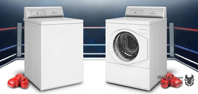 ماشین لباسشویی درب از جلو یا درب از بالا