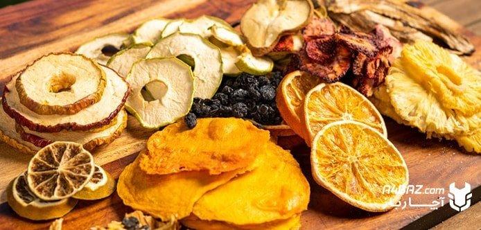 طرز تهیه میوه خشک