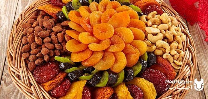 میوههای مناسب برای خشک کردن