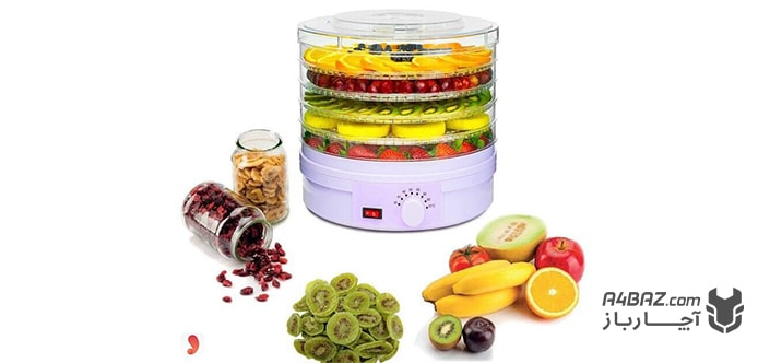 طریقه خشک کردن میوه با میوه خشک کن
