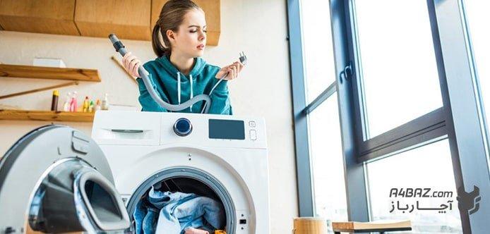 رفع خطاهای ماشین لباسشویی اسنوا توسط تکنسینهای حرفهای آچارباز