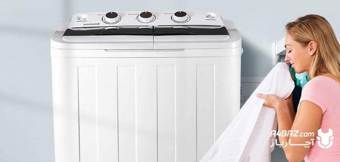 مشکلات رایج ماشین لباسشویی دوقلو