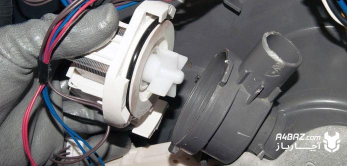 فیلتر تخلیه کنندهی آب ظرفشویی