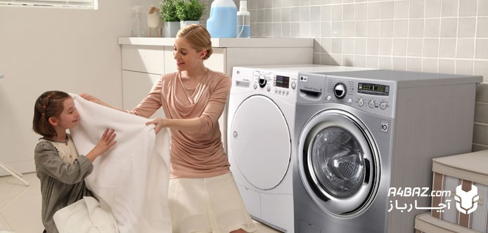 نحوه کار با ماشین لباسشویی