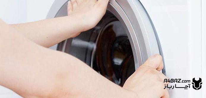 علل باز نشدن درب لباسشویی