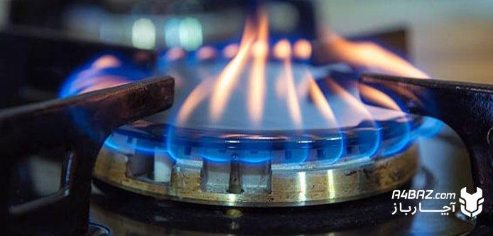 علت دود کردن شعله اجاق گاز