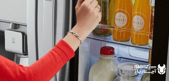 پر نگه داشتن یخچال