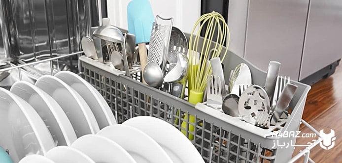 زنگ زدن سبد ماشین ظرفشویی