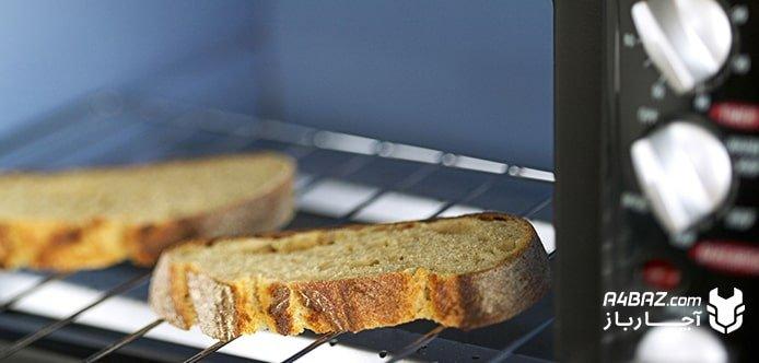 نان تست با آون توستر