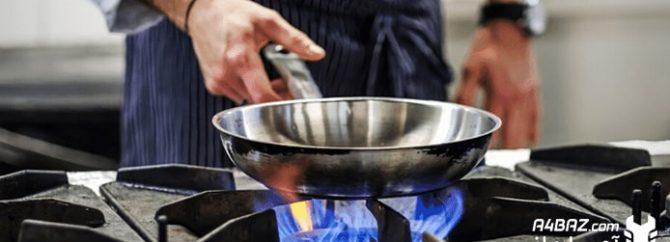 بررسی دلایل کم بودن شعله اجاق گاز