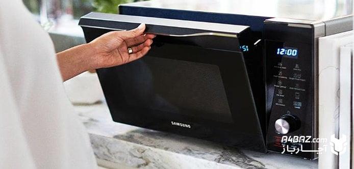 مایکروویو سامسونگ، دستگاه مناسبی برای کاربری روزانه و خانگی است.