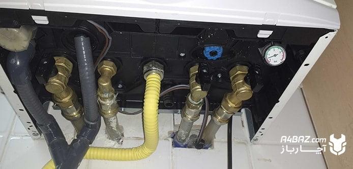 تنظیم فشار آب در مدار گرمایشی
