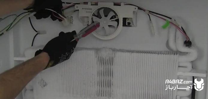 یخزدگی اپراتور یخچال