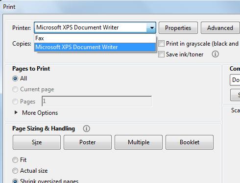 نحوه تبدیل پی دی اف رنگی به سیاه و سفید در ویندوز