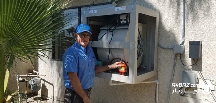 صرفه جویی در مصرف برق با نصب سایبان