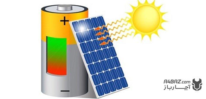 ذخیره سازی انرژی در پنل خورشیدی
