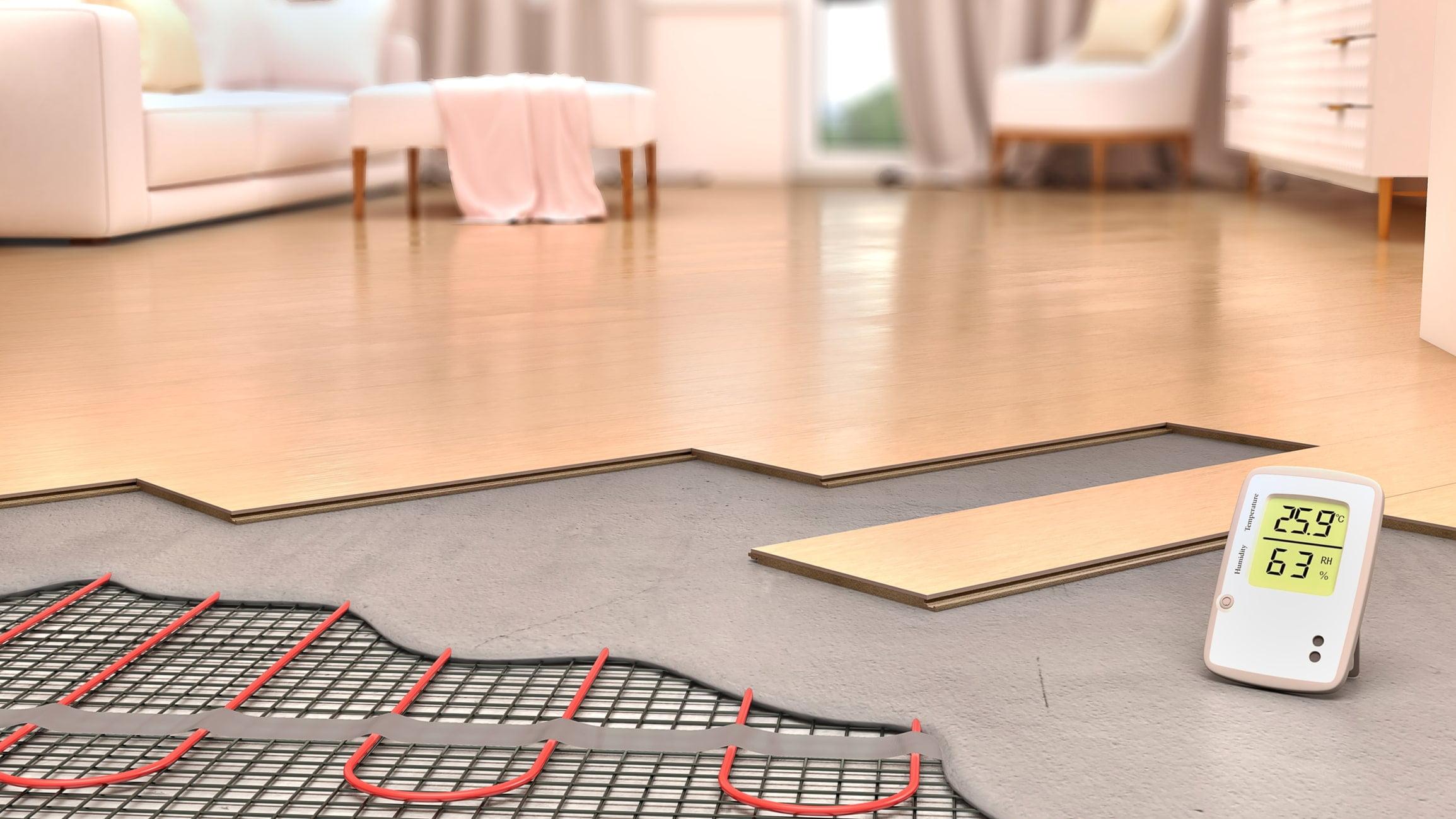 مصرف انرژی سیستم گرمایش از کف