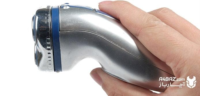 نحوه گرفتن ریش تراش در دست