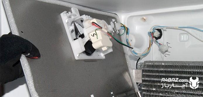 نصب فن روی یخچال