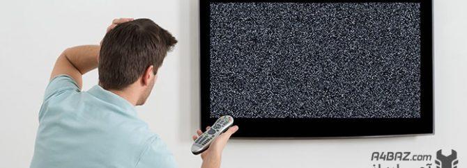 چرا تصویر تلویزیون برفکی می شود؟