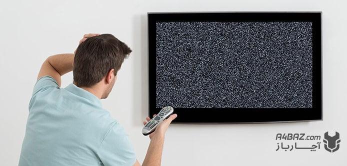 بررسی علت برفکی شدن تلویزیون