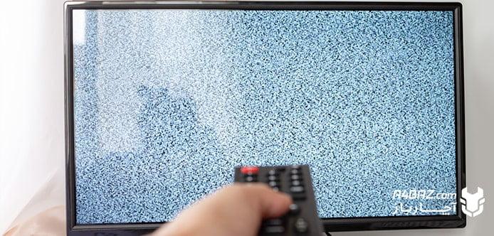تلوزیون دارای برفک