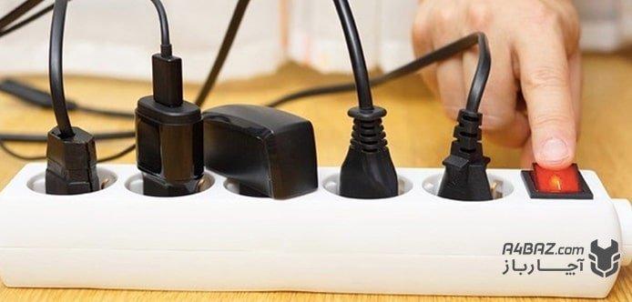 خرابی پریز برق
