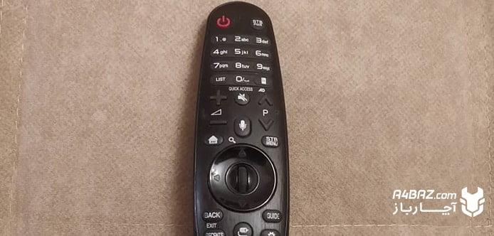 کنترل هوشمند تلویزیون ال جی