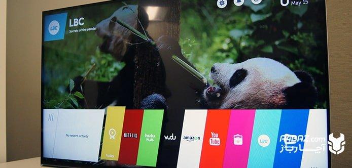 وصل کردن تلویزیون ال جی به اینترنت
