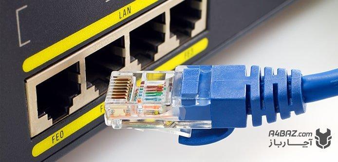 کابل LAN تلویزیون
