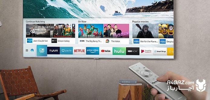 وصل کردن به اینترنت تلویزیون سامسونگ