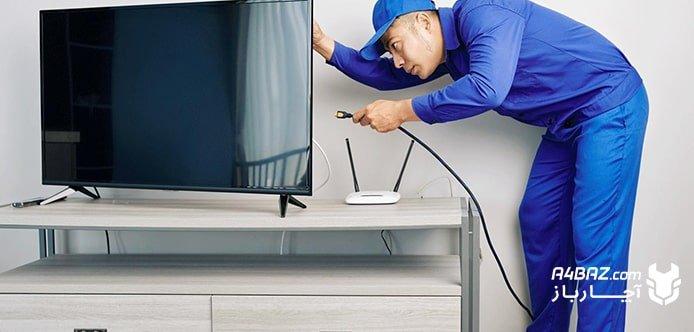 خدمات تعمیر تلویزیون آچارباز