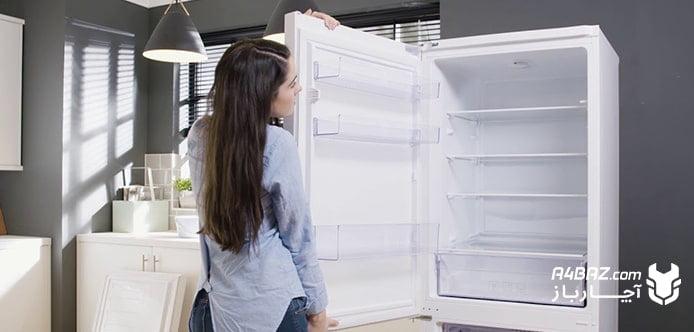 درآوردن درب یخچال