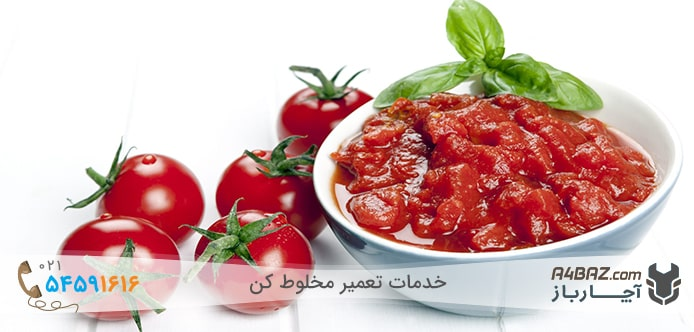 دانه های گوجه فرنگی