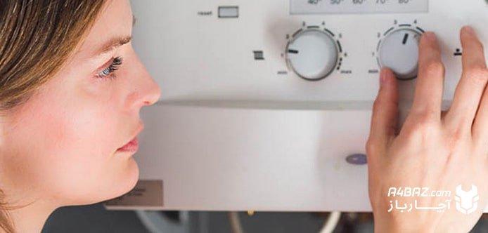بستن شیرهای رفت و برگشت رادیاتور پکیج در تابستان