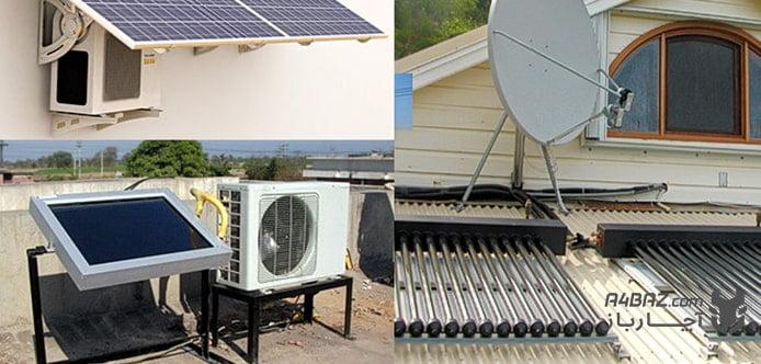 نحوه کارکرد کولر گازی خورشیدی
