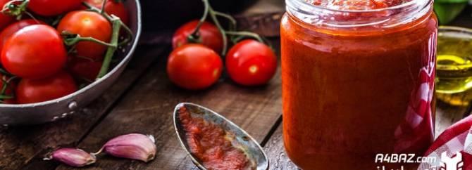 طرز تهیه رب گوجه فرنگی خانگی با استفاده از مخلوط کن